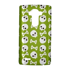 Skull Bone Mask Face White Green Lg G4 Hardshell Case by Alisyart