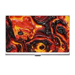 Lava Active Volcano Nature Business Card Holders by Alisyart