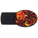 Lava Active Volcano Nature USB Flash Drive Oval (2 GB) Front