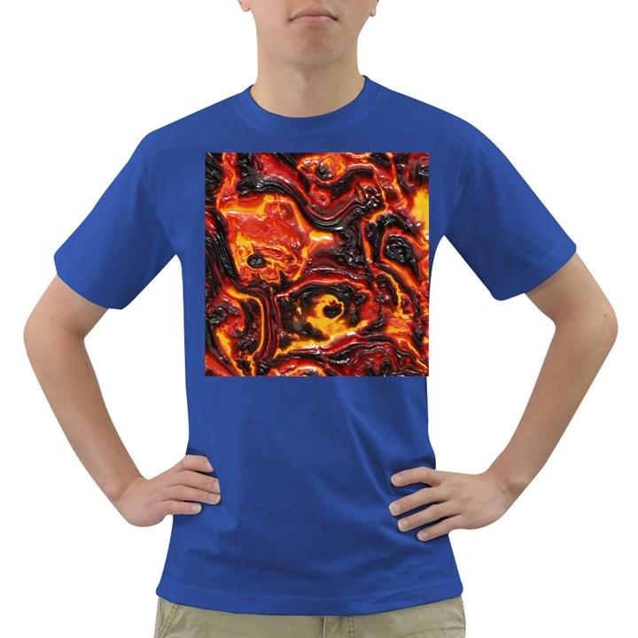 Lava Active Volcano Nature Dark T-Shirt