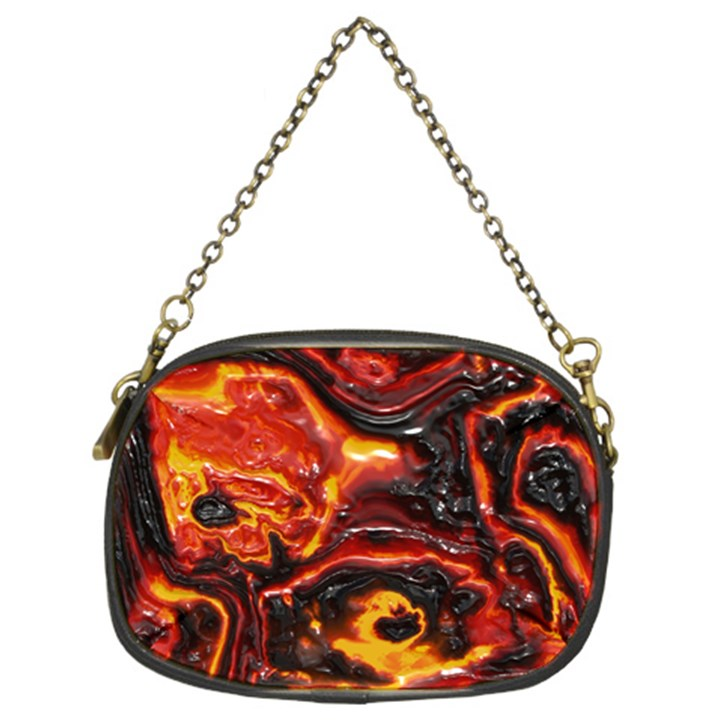 Lava Active Volcano Nature Chain Purses (Two Sides)