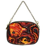 Lava Active Volcano Nature Chain Purses (Two Sides)  Back