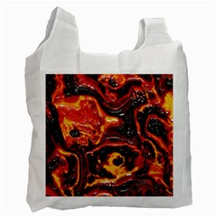 Lava Active Volcano Nature Recycle Bag (two Side)