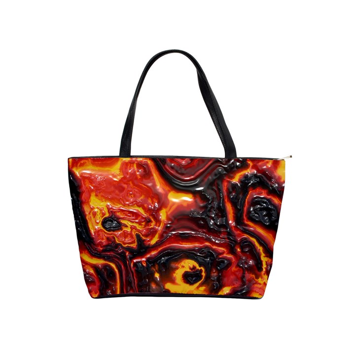 Lava Active Volcano Nature Shoulder Handbags