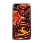 Lava Active Volcano Nature Apple iPhone 4 Case (Clear) Front