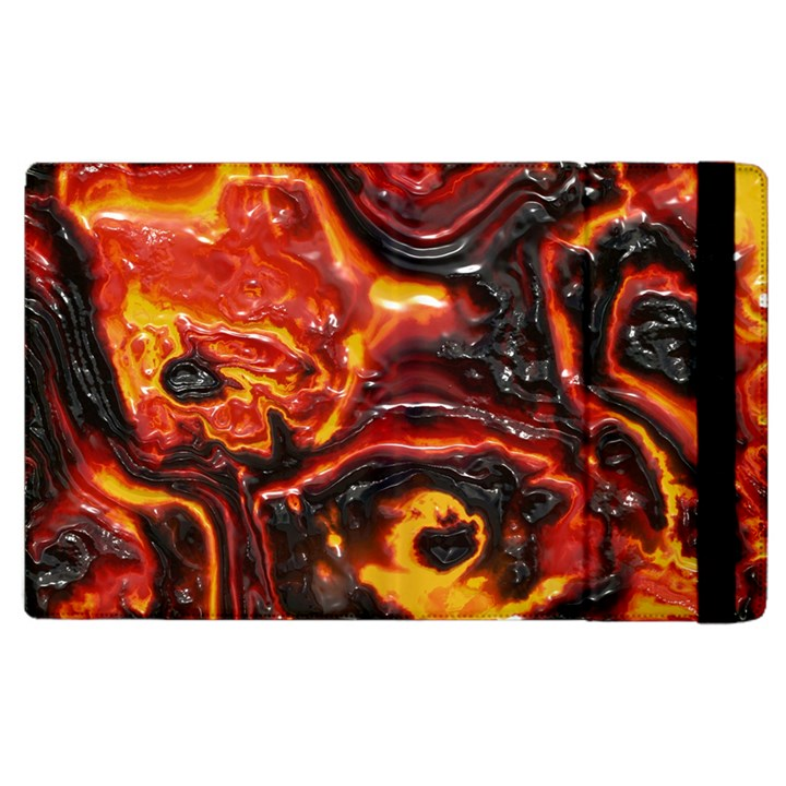 Lava Active Volcano Nature Apple iPad 3/4 Flip Case