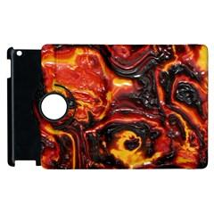 Lava Active Volcano Nature Apple Ipad 2 Flip 360 Case