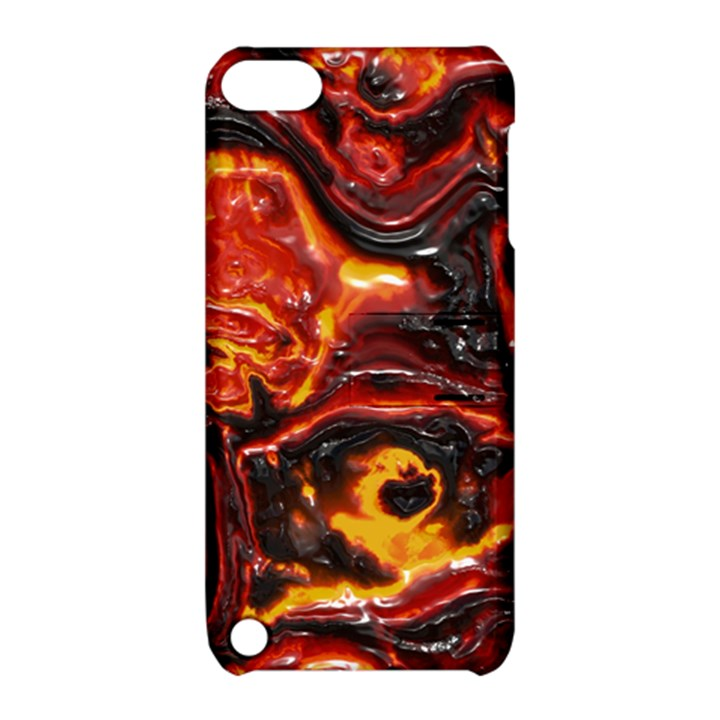 Lava Active Volcano Nature Apple iPod Touch 5 Hardshell Case with Stand