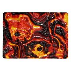 Lava Active Volcano Nature Samsung Galaxy Tab 10 1  P7500 Flip Case by Alisyart