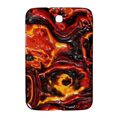 Lava Active Volcano Nature Samsung Galaxy Note 8 0 N5100 Hardshell Case  by Alisyart