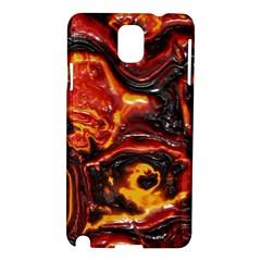 Lava Active Volcano Nature Samsung Galaxy Note 3 N9005 Hardshell Case by Alisyart