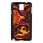 Lava Active Volcano Nature Samsung Galaxy Note 3 N9005 Case (Black) Front