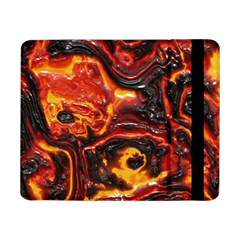 Lava Active Volcano Nature Samsung Galaxy Tab Pro 8 4  Flip Case by Alisyart