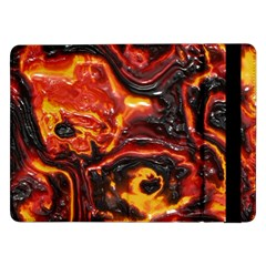 Lava Active Volcano Nature Samsung Galaxy Tab Pro 12 2  Flip Case by Alisyart