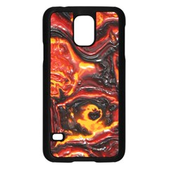 Lava Active Volcano Nature Samsung Galaxy S5 Case (black)