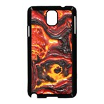Lava Active Volcano Nature Samsung Galaxy Note 3 Neo Hardshell Case (Black) Front