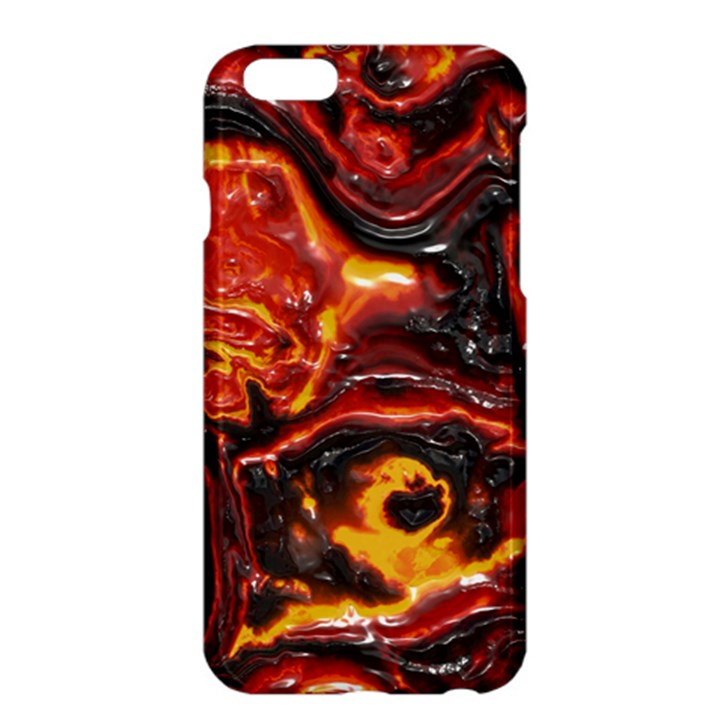 Lava Active Volcano Nature Apple iPhone 6 Plus/6S Plus Hardshell Case