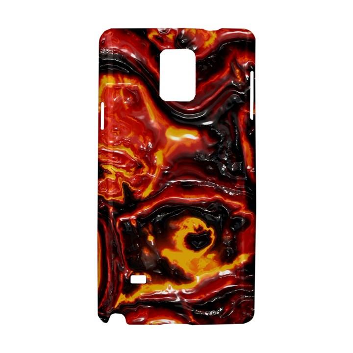 Lava Active Volcano Nature Samsung Galaxy Note 4 Hardshell Case