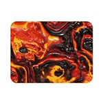 Lava Active Volcano Nature Double Sided Flano Blanket (Mini)  35 x27 Blanket Back