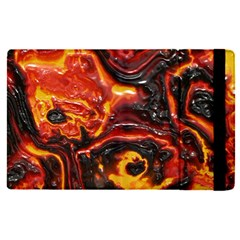 Lava Active Volcano Nature Apple Ipad Pro 12 9   Flip Case by Alisyart
