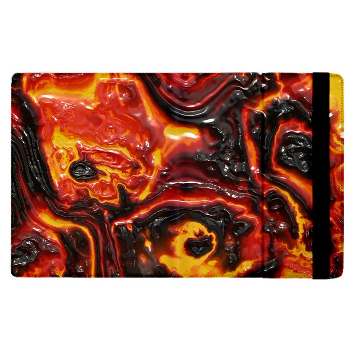 Lava Active Volcano Nature Apple iPad Pro 9.7   Flip Case