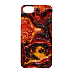 Lava Active Volcano Nature Apple Iphone 7 Hardshell Case by Alisyart