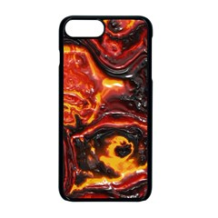Lava Active Volcano Nature Apple Iphone 8 Plus Seamless Case (black) by Alisyart