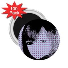 Heartwill 2 25  Magnets (100 Pack)  by snowwhitegirl