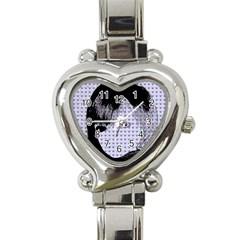 Heartwill Heart Italian Charm Watch by snowwhitegirl