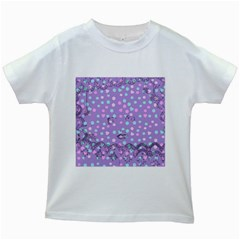 Little Face Kids White T Shirts