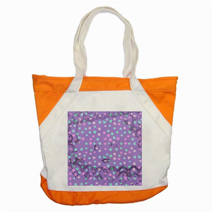 Little Face Accent Tote Bag