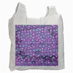Little Face Recycle Bag (two Side)  by snowwhitegirl