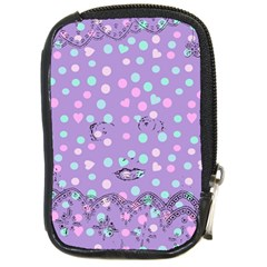 Little Face Compact Camera Cases by snowwhitegirl