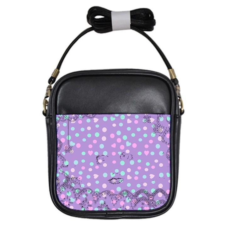Little Face Girls Sling Bags