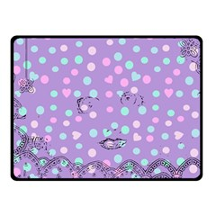 Little Face Fleece Blanket (small) by snowwhitegirl