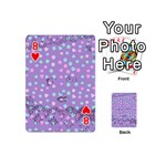Little Face Playing Cards 54 (Mini)  Front - Heart8
