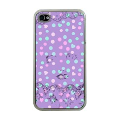 Little Face Apple Iphone 4 Case (clear) by snowwhitegirl