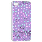 Little Face Apple iPhone 4/4s Seamless Case (White) Front