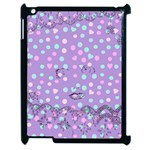 Little Face Apple iPad 2 Case (Black) Front