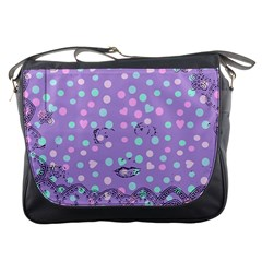 Little Face Messenger Bags by snowwhitegirl