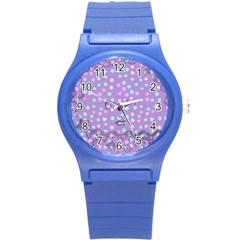 Little Face Round Plastic Sport Watch (s)