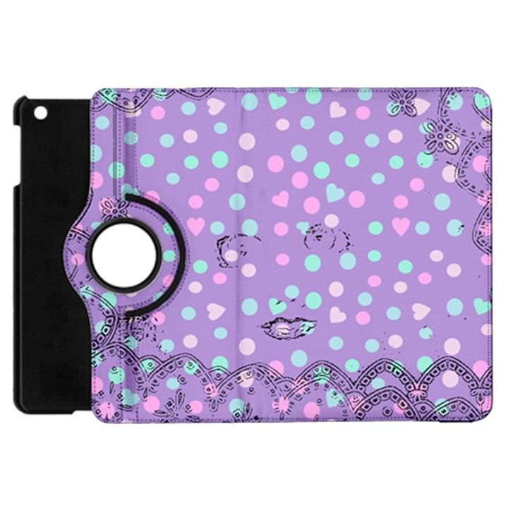Little Face Apple iPad Mini Flip 360 Case