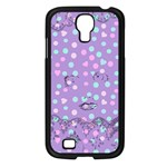 Little Face Samsung Galaxy S4 I9500/ I9505 Case (Black) Front