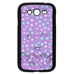 Little Face Samsung Galaxy Grand Duos I9082 Case (black) by snowwhitegirl