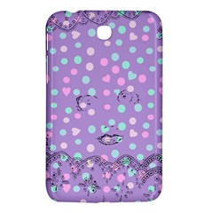 Little Face Samsung Galaxy Tab 3 (7 ) P3200 Hardshell Case  by snowwhitegirl