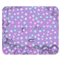 Little Face Double Sided Flano Blanket (small)  by snowwhitegirl