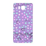 Little Face Samsung Galaxy Alpha Hardshell Back Case Front