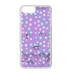 Little Face Apple iPhone 7 Plus Seamless Case (White) Front