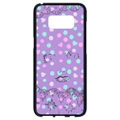 Little Face Samsung Galaxy S8 Black Seamless Case by snowwhitegirl