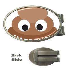 Poo Happens Money Clips (oval)